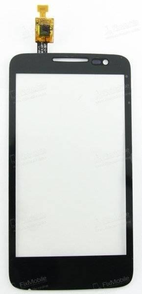 Тачскрин (сенсор) для Alcatel MPop (5020) (черный)