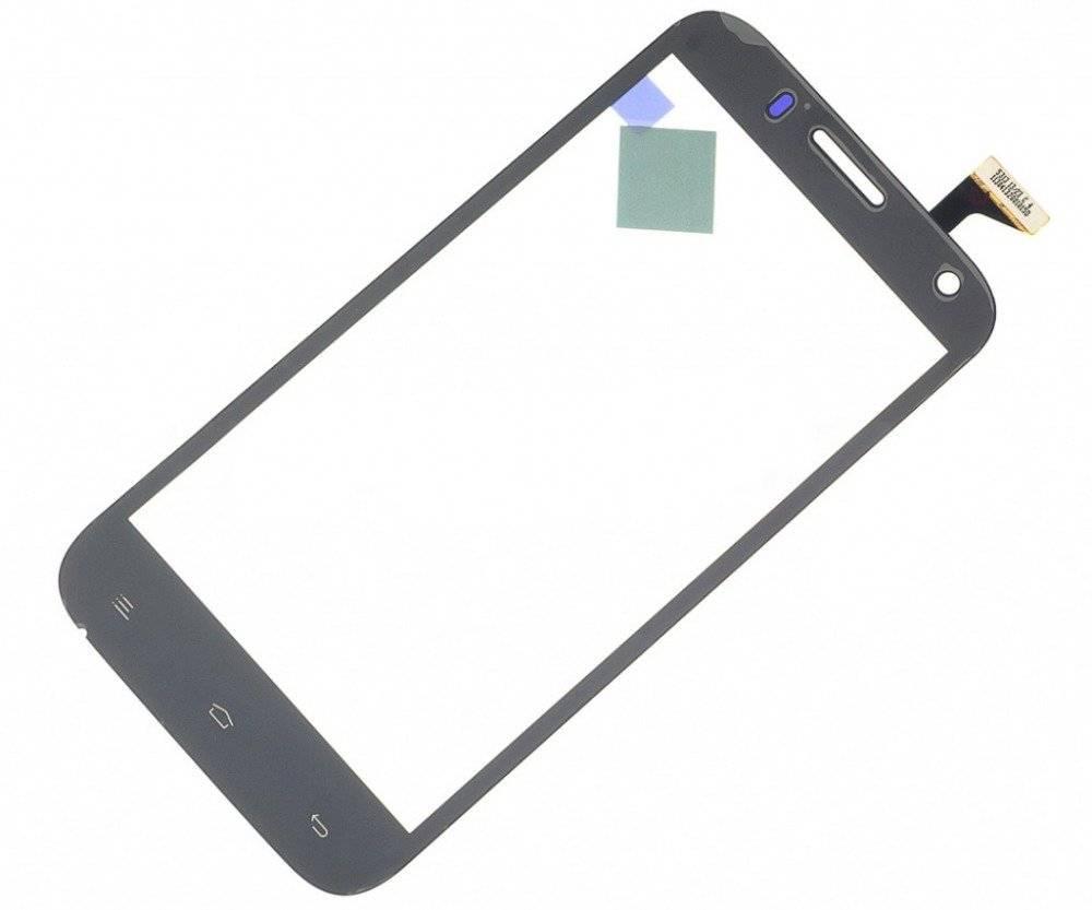 Тачскрин (сенсор) для Explay Navigator (черный)