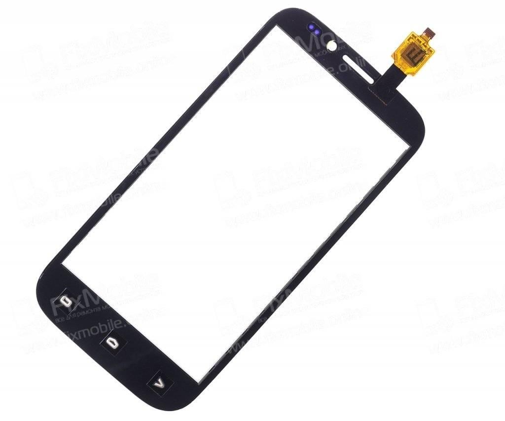 Тачскрин (сенсор) для Fly Spark (IQ4404) (белый)
