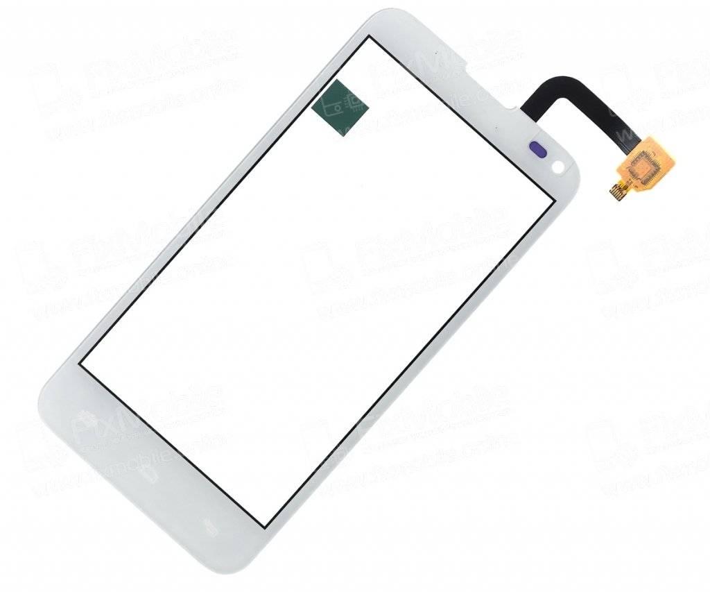 Тачскрин (сенсор) для Fly Quad Era Style 3 (IQ4415) (белый)