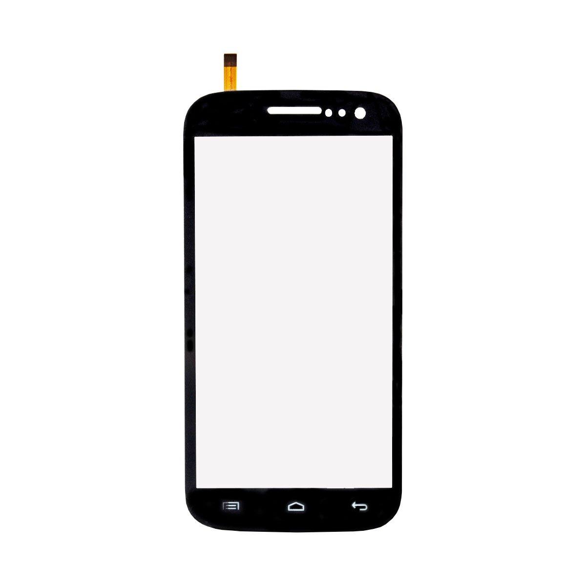 Тачскрин (сенсор) для Fly Quattro Vista (IQ451) (черный)