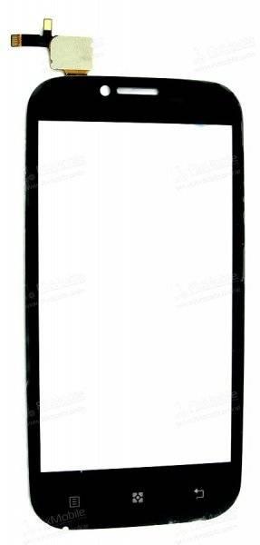 Тачскрин (сенсор) для Lenovo A706 (черный)