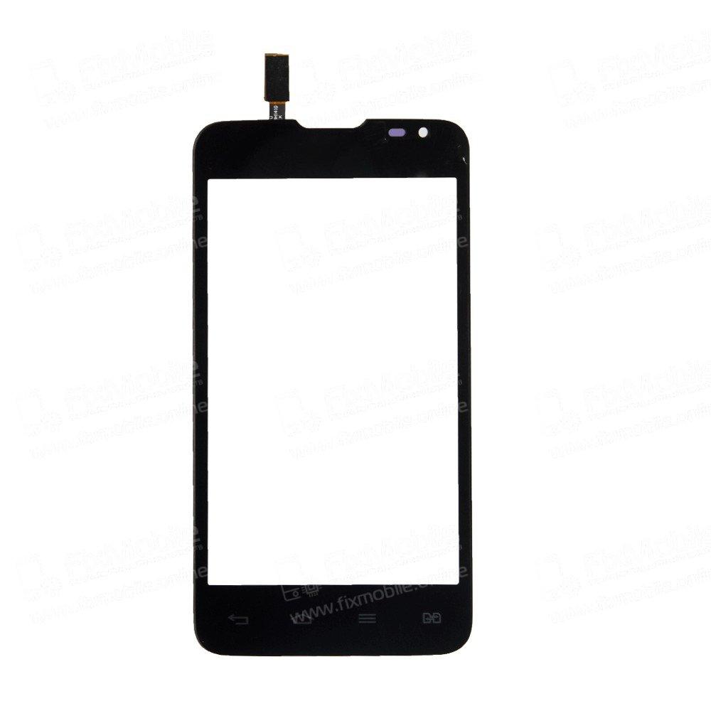 Тачскрин (сенсор) для LG L Series III (D285) (черный)