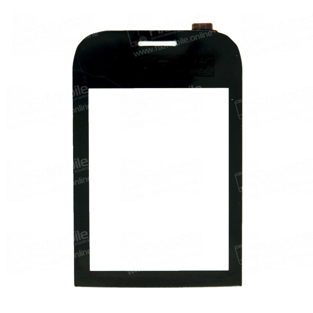 Тачскрин (сенсор) для Nokia 202 (черный)
