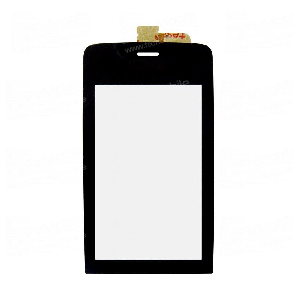 Тачскрин (сенсор) для Nokia 308 (черный)