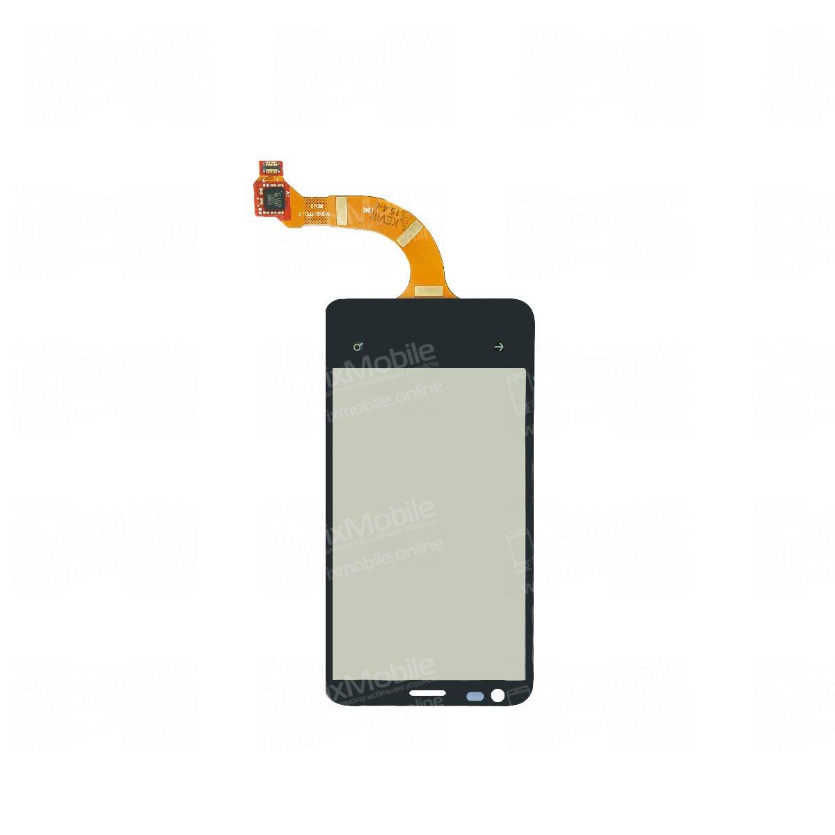 Тачскрин (сенсор) для Nokia Lumia 620 (черный) - rev.3
