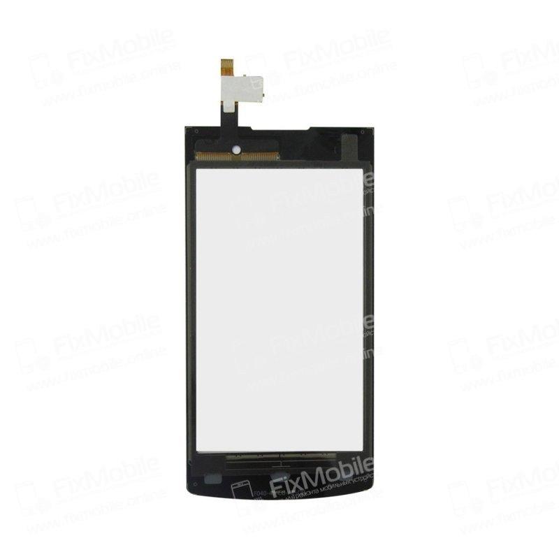 Тачскрин (сенсор) для Philips S308 (черный)