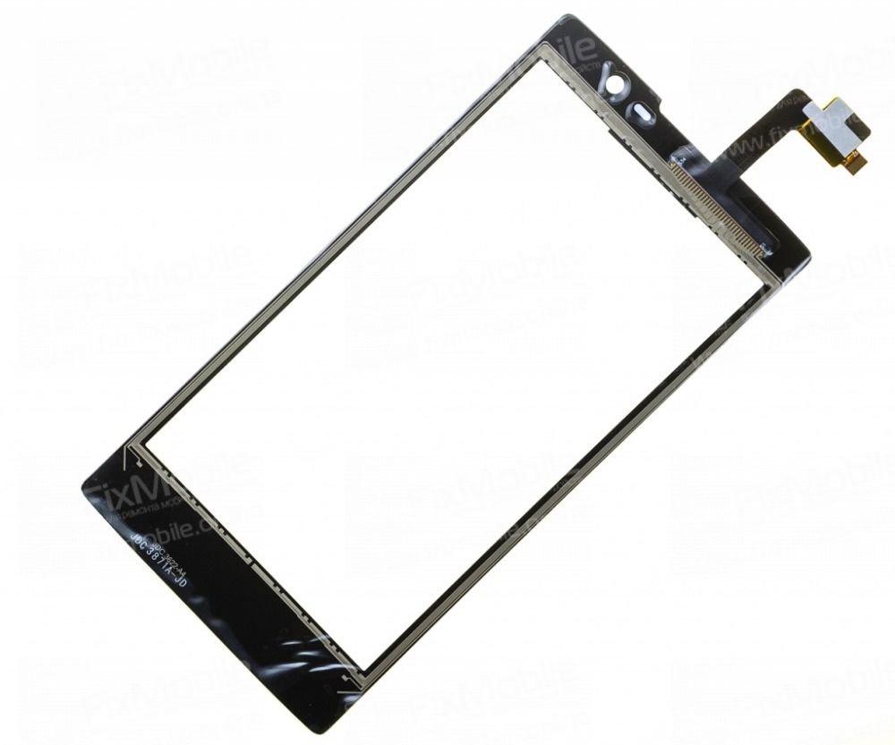 Тачскрин (сенсор) для Philips Xenium W3500 (черный)