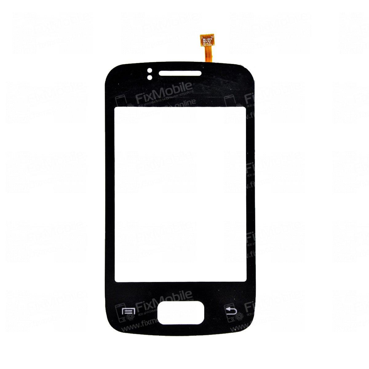 Тачскрин (сенсор) для Samsung Galaxy Y Duos (S6102) (черный)