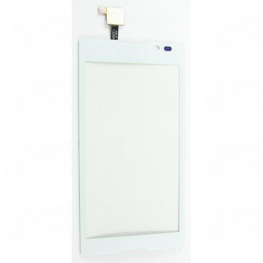 Тачскрин (сенсор) для Sony Xperia C (C2305) (белый)