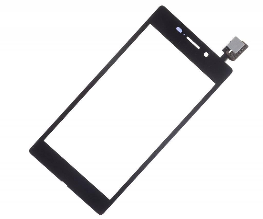 Тачскрин (сенсор) для Sony Xperia M2 Aqua (D2403) (черный)