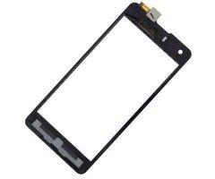 Тачскрин (сенсор) для Highscreen Omega Prime S (черный)