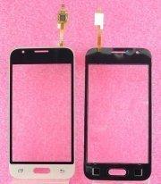 Тачскрин (сенсор) для Samsung Galaxy J1 mini (J105F) (золото)